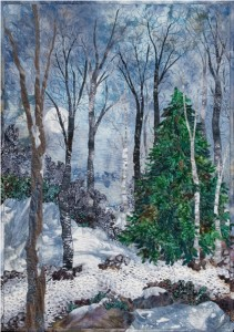"Art by Susan Gilgan, ""Wisconsin Winter"""