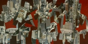 "Art by Randal Marsh, ""Upside Downtown"""