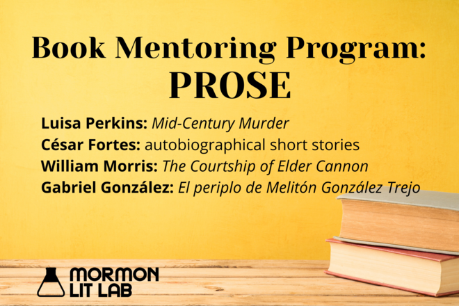 Book Mentoring Program Prose (Mormon Lit Lab)